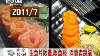吃到飽縮水! 明蝦.生魚片限量吃