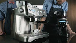 Идеальный эспрессо на кофейной станции BORK C802