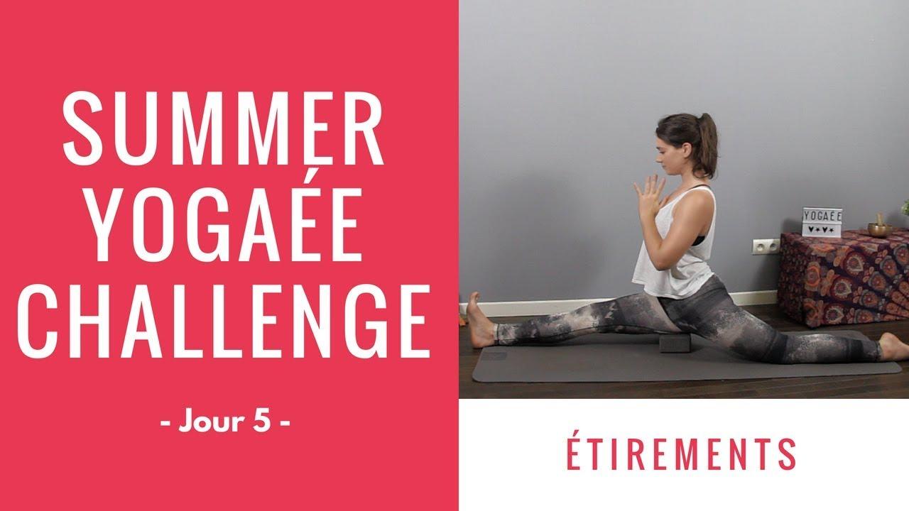 Summer Yogaée Challenge - Jour 5 - Etirements