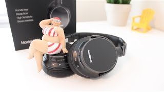 Video (Ausdom M06) BEST Wireless Headphones Under $50? Unboxing and Review download MP3, 3GP, MP4, WEBM, AVI, FLV Juli 2018