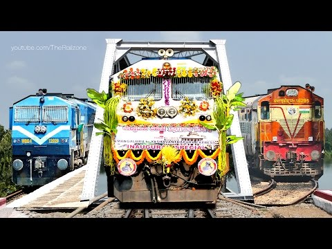 Finally Out KUDLA Express   Mangalore - Bangalore Train   Indian Railways