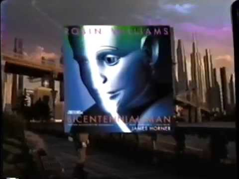 Bicentennial Man Soundtrack (1999) Promo (VHS Capture)