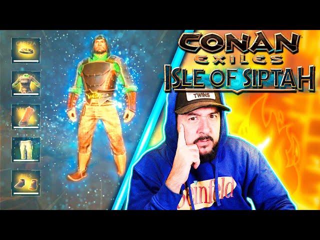 EQUIPADO PARA LA BATALLA! #5 | CONAN EXILES: ISLE OF SIPTAH | GAMEPLAY ESPAÑOL