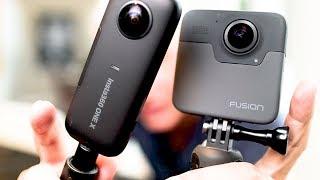Insta360 One X 360 Camera Review (vs GoPro Fusion) READ DESCRIPTION