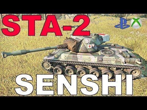 STA-2 Senshi Okiem Hincula World of Tanks Xbox One/Ps4