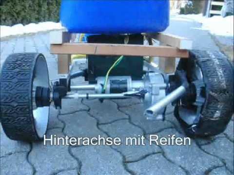 Seifenkiste Mit Motor Youtube