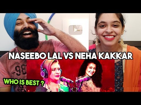 Indian vs Pakistani Singer | Naseebo Lal vs Neha Kakkar ft. PunjabiReel TV