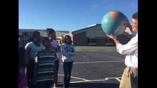 Rick Crosslin Science - Solar System Model North Wayne Elem.