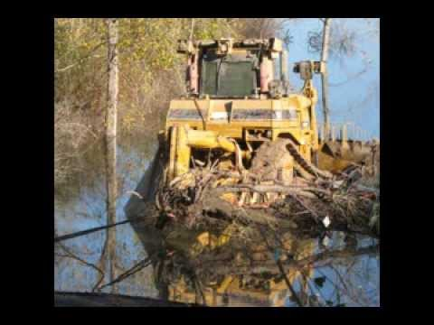 Underwater Recovery of a D9T Bulldozer