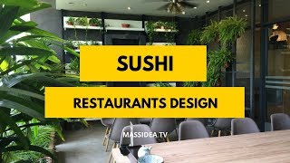100+ Awesome Sushi Restaurants Interior Design in 2018
