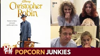 Christopher Robin Official Trailer : Nadia Sawalha and Family Reaction & Review