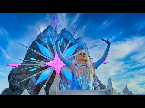 [4K] Frozen 2 : An Enchanted Journey - Show 2020 - Disneyland Paris