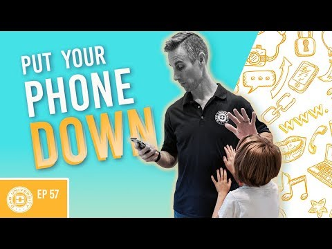 Put Your Phone Down Distracted Parenting is Hurting Your Child | Dad University