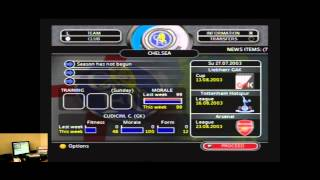 Lets Play Total Club Manager 2004 For The Xbox   Classic Retro Game Room