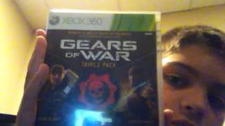 Gears of war triple pack unboxing by aaids12