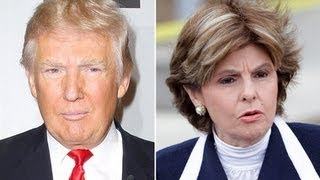 Donald Trump & Gloria Allred October
