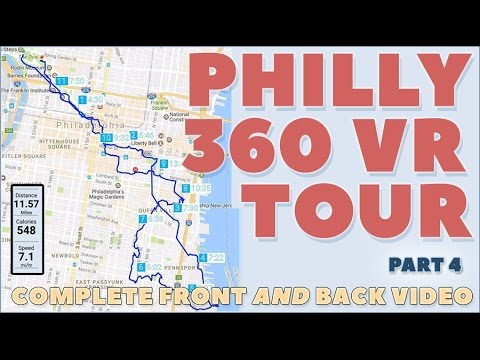 Tour Philadelphia in 360 Video Part 4: Jewelers Row past Old City Hall to Washington Square