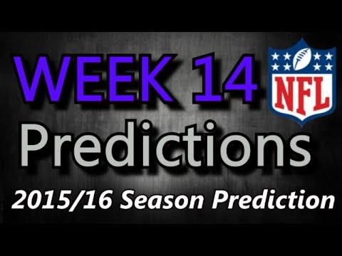Week 14 - 2015 NFL Predictions