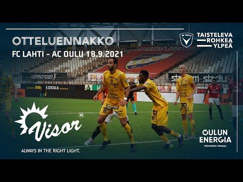 ACOTV: Visor otteluennakko FC Lahti - AC Oulu 18.9.2021 (Veikkausliiga)