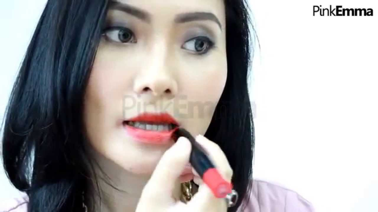 Tutorial Moist Boost Silkygirl Lipcolor Balm Ruby Moisture Smooth Lip Color 03 Simply Pink