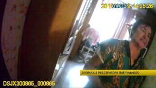 Брутальная бабушка побила патрульных из-за стресса