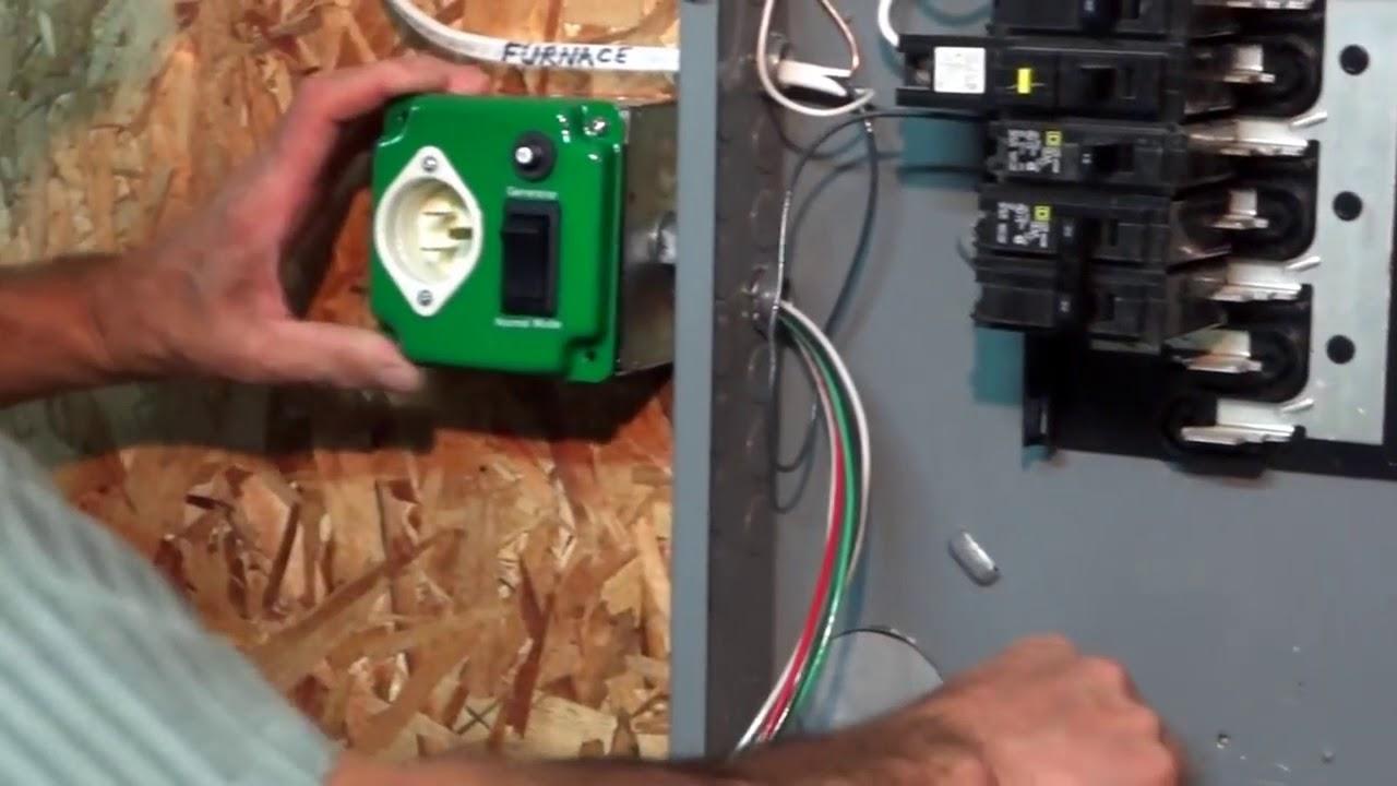 ez generator switch installation