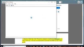 Fix TAP-Windows Adapter V9 error in Windows 10
