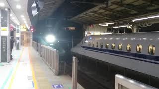 [東北新幹線]はやぶさ108号東京駅到着