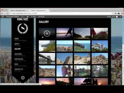 Create a Photography Website & Make Money!!