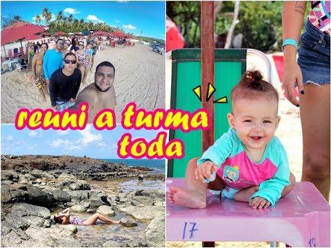 Comemorei meu ANIVERSÁRIO na PRAIA | Ilha de Santo Aleixo