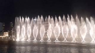 Dubai Dancing Fountain - Dubai Mall