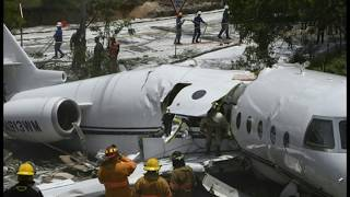 Private Jet from Texas Breaks in Half After Takeoff In Honduras