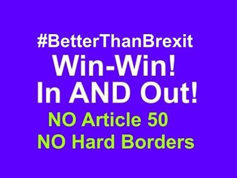 "The ""Brexitland"" Plan: 7 new British Crown Dependencies outside UK / EU. UK stays EU! (2mins+)"