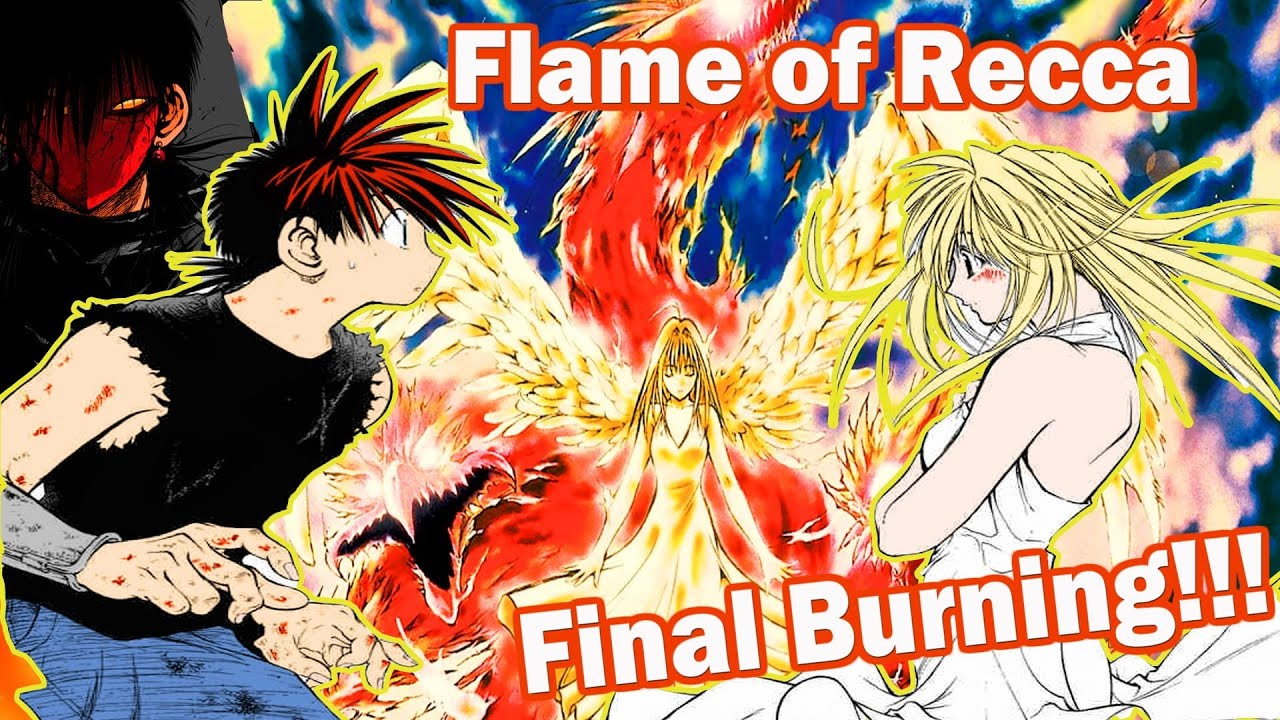Flame Of Recca Final Burning Movie Youtube