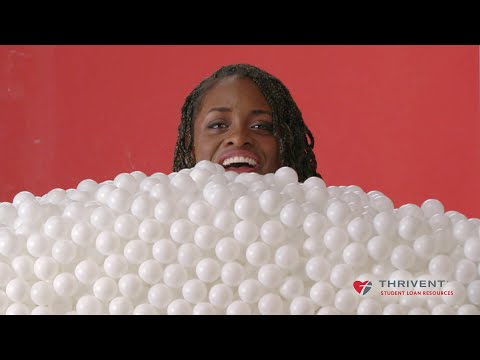 Thumbnail: Students See The Cost of College In Ping-Pong Balls // Presented by BuzzFeed & Thrivent