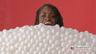 Students See The Cost of College In Ping-Pong Balls // Presented by BuzzFeed & Thrivent thumbnail