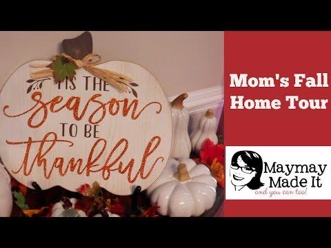 My Mom's Fall Home Tour!