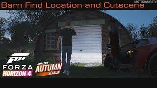 Forza Horizon 4 - Autumn Season Barn Find Location and Cutscene