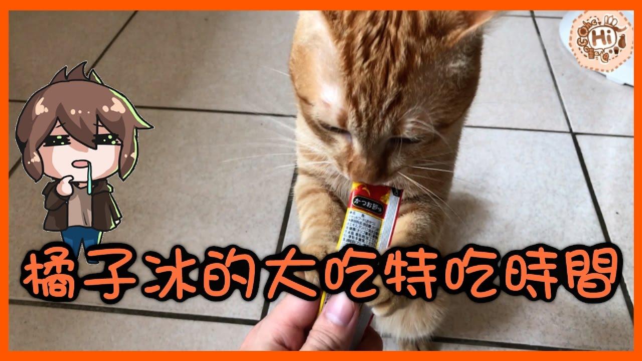 【巧克力】『橘子冰的日常』- 橘子冰的大吃特吃時間 - YouTube