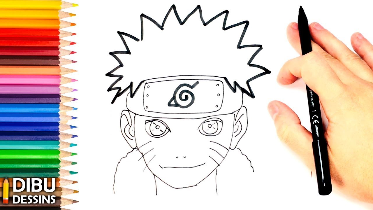 Comment dessiner naruto dessin de naruto youtube - Comment dessiner sasuke ...