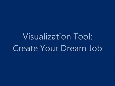 Visualization Tool: Create Your Dream Job