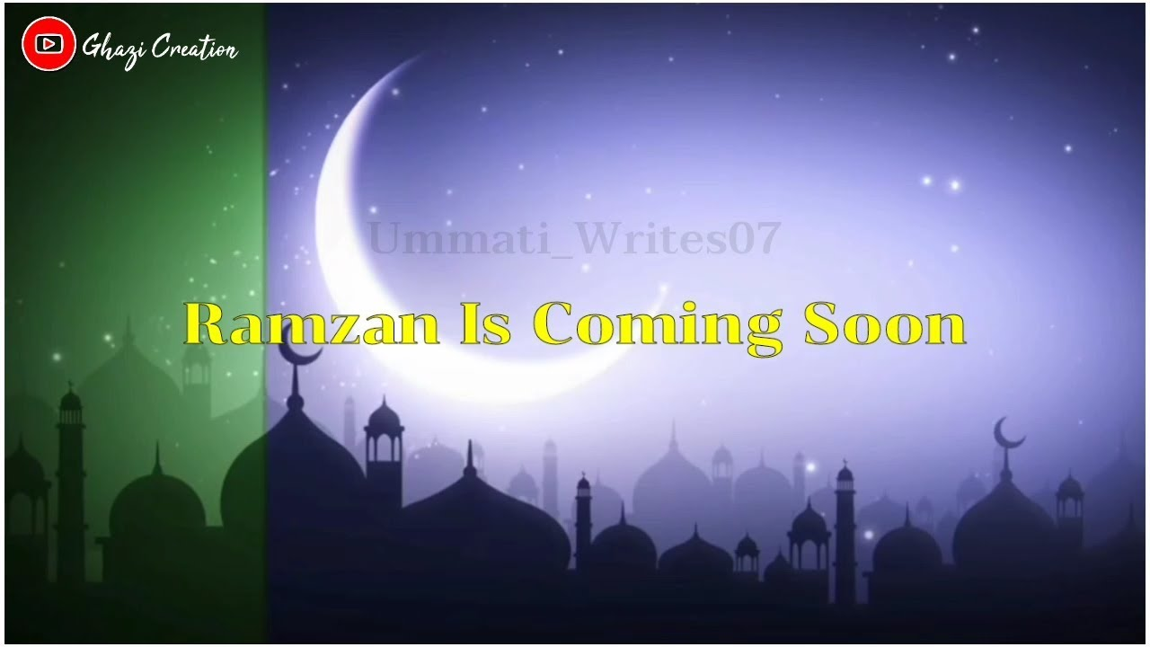 Ramzan Coming Soon || Whatsapp Status || Shan-E-Ramzan || Lyrical Video