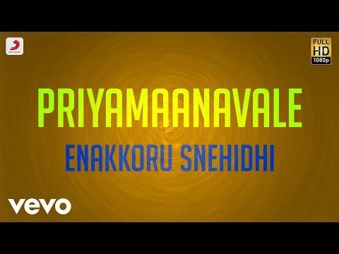 Priyamaanavale - Enakkoru Snehidhi Lyric | Vijay, Simran | S.A. Rajkumar