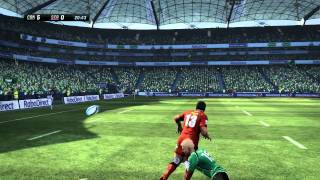 Jonah Lomu Rugby Challenge Gameplay Trailer