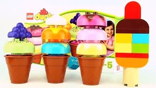 Duplo Lego Ice Cream Cones 10574 - Create Your Own Ice Cream Popsicles
