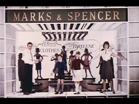 'Sing a Little Song - Terylene'  - vintage 1960s Marks & Spencer advert