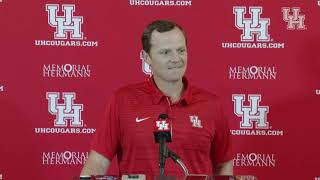 Major Applewhite Weekly Press Conference (10.08.18)