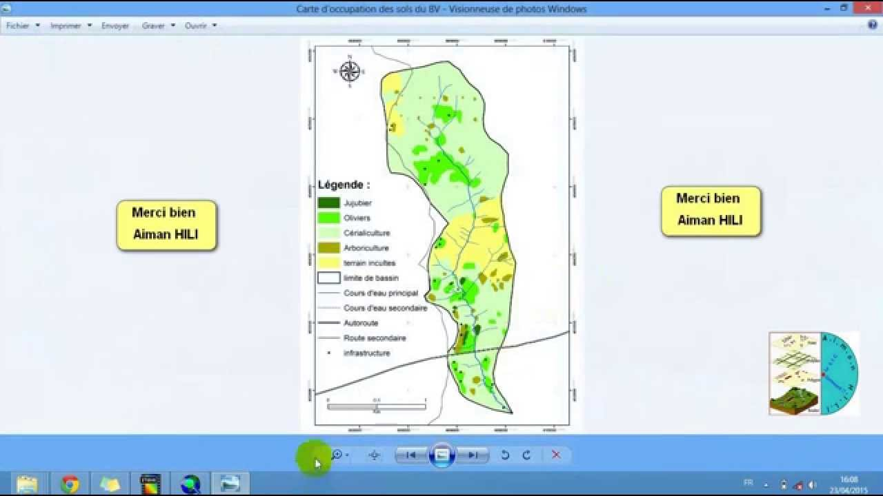 Extrem Comment faire la mise en page d'une carte sur ArcGis - YouTube HH82