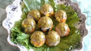 Яйца пасхальные заливные: вкусное, лёгкое и красивое блюдо пасхального стола