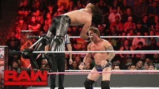 Seth Rollins vs. Chris Jericho: Raw, 17. Oktober 2016